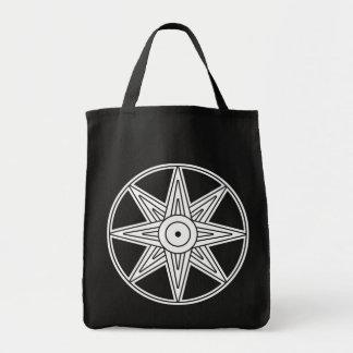 Símbolo de la estrella de Inanna Bolsa Tela Para La Compra