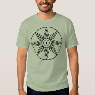 Símbolo de la estrella de Inanna Camisas