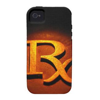 Símbolo de la farmacología Case-Mate iPhone 4 funda