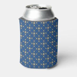 Símbolo de la flor de lis enfriador de latas