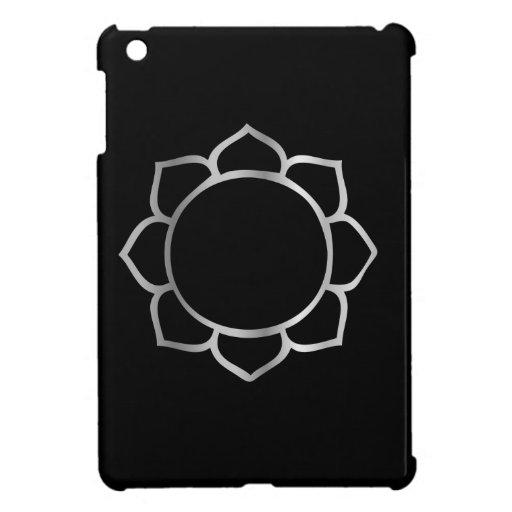Símbolo de la flor de Lotus del buddhism iPad Mini Coberturas