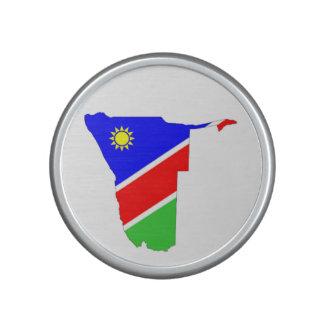 símbolo de la forma del mapa de la bandera de país altavoz bluetooth