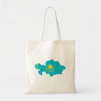 símbolo de la forma del mapa de la bandera de país bolsa tela barata