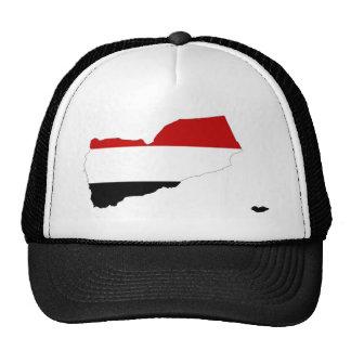 símbolo de la forma del mapa de la bandera de país gorra