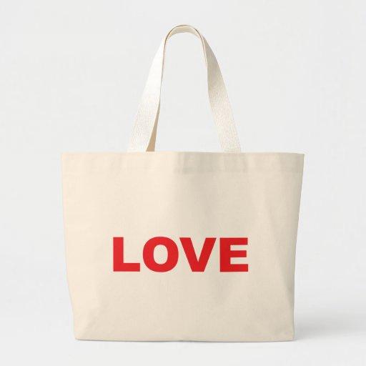 Símbolo de la fuente del amor bolsas