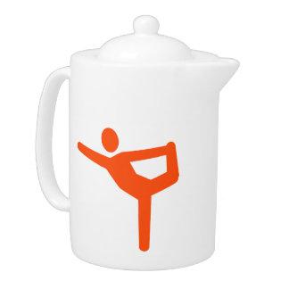 Símbolo de la gimnasia de la yoga
