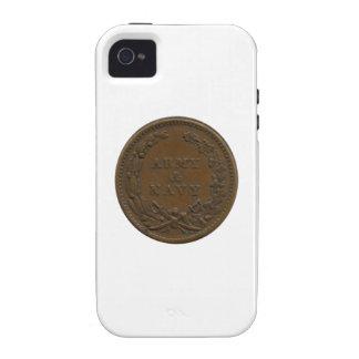 Símbolo de la guerra civil 1863 iPhone 4/4S funda