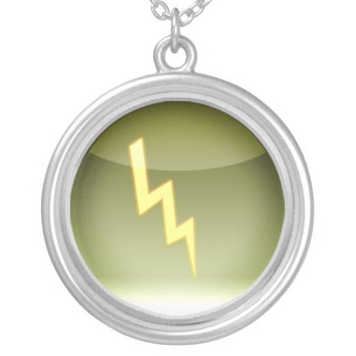símbolo de la iluminación collar personalizado