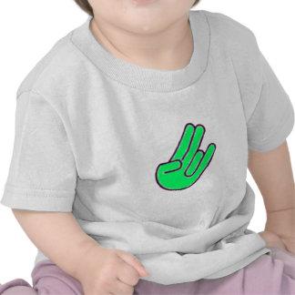 Símbolo de la mano del escándalo camiseta