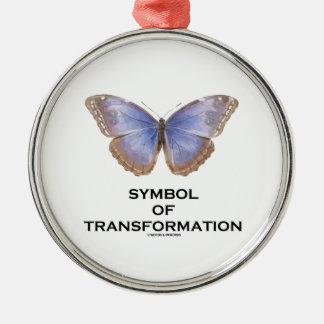 Símbolo de la mariposa de la transformación ornatos