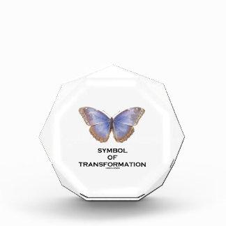 Símbolo de la mariposa de la transformación