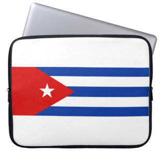 símbolo de la nación de la bandera de país de Cuba Fundas Computadoras