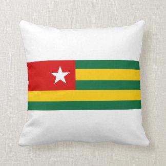 símbolo de la nación de la bandera de país de Togo Cojín