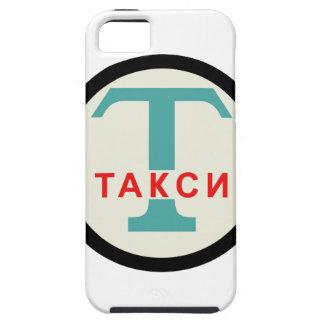 Símbolo de la parada de taxis iPhone 5 Case-Mate cárcasas