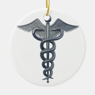 Símbolo de la profesión médica ornamentos de reyes magos