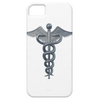 Símbolo de la profesión médica iPhone 5 cobertura