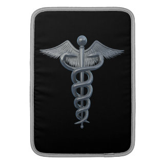 Símbolo de la profesión médica funda  MacBook