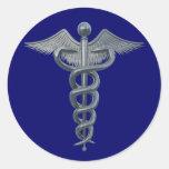 Símbolo de la profesión médica pegatinas