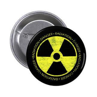 Símbolo de la radiación pin
