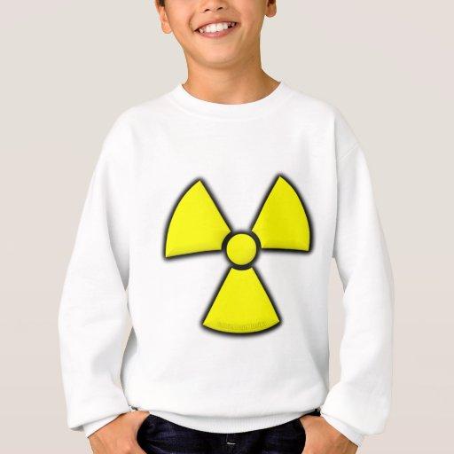 Símbolo de la radiación sudadera