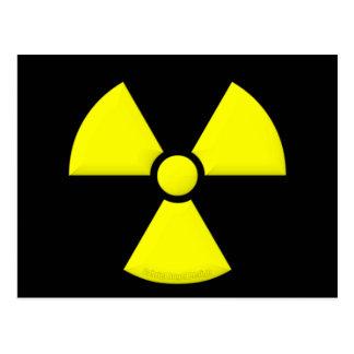 Símbolo de la radiación postal