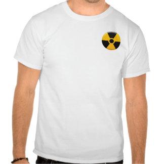 Símbolo de la radiación tshirt