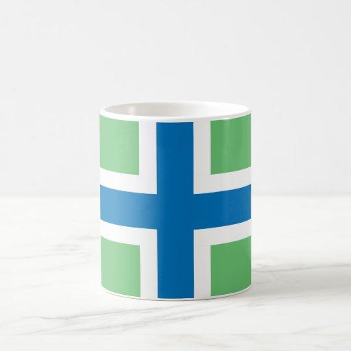 Símbolo de la región de Inglaterra de la bandera Taza