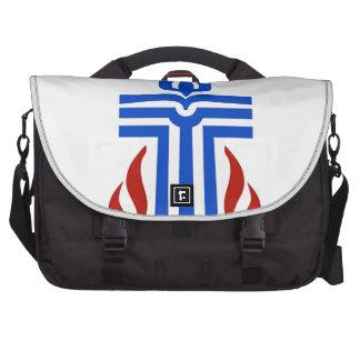 Símbolo de la religión presbiteriana bolsas para portátil