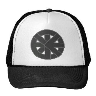 Símbolo de la rueda de Ichthys Gorros Bordados