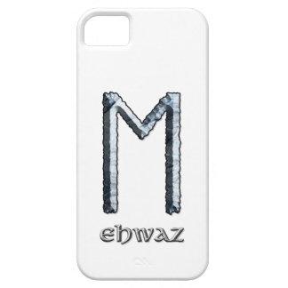 Símbolo de la runa de Ehwaz Funda Para iPhone SE/5/5s