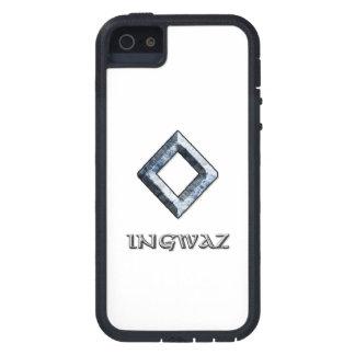 Símbolo de la runa de Ingwaz iPhone 5 Funda