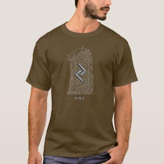 Símbolo de la runa de Jera (delanteros y traseros Playera
