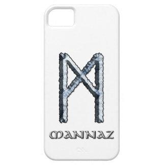 Símbolo de la runa de Mannaz iPhone 5 Carcasa