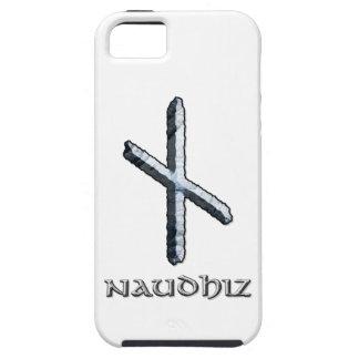 Símbolo de la runa de Naudhiz iPhone 5 Carcasas