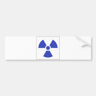 Símbolo de la señal de peligro del símbolo de la m etiqueta de parachoque