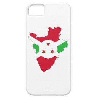 símbolo de la silueta de la forma del mapa de la iPhone 5 carcasa