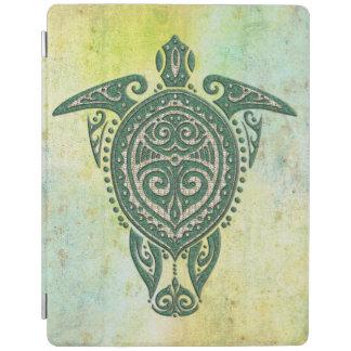 Símbolo de la tortuga de mar de Shamanic + sus Cover De iPad