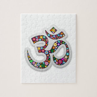 Símbolo de la yoga de Aum Namaste del ohmio de OM Puzzle