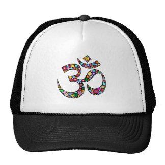 Símbolo de la yoga de OM Aum Namaste Gorros