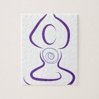 Símbolo de la yoga puzzle