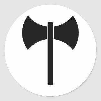 Símbolo de Labrys Etiqueta