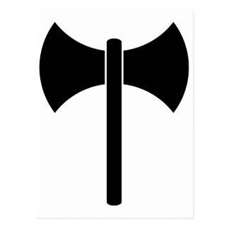Símbolo de Labrys Postal