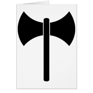 Símbolo de Labrys Tarjetas