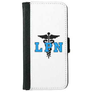 Símbolo de las enfermeras LPN Funda Cartera Para iPhone 6