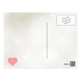 Símbolo de las pesas de gimnasia tarjetas postales