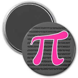 Símbolo de las rosas fuertes pi imán para frigorifico