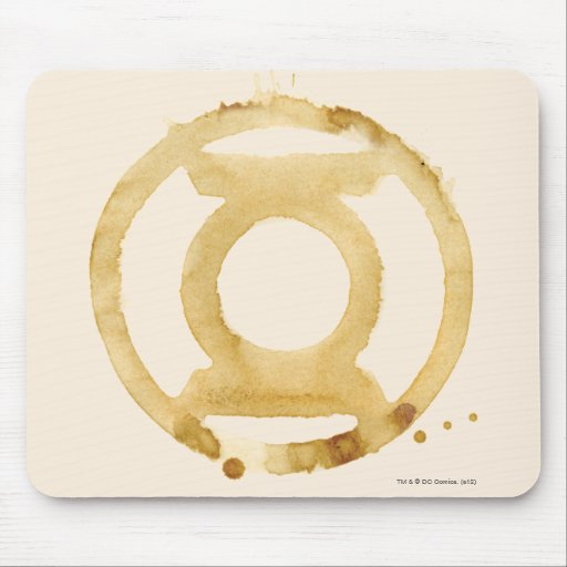 Símbolo de linterna del café tapetes de raton