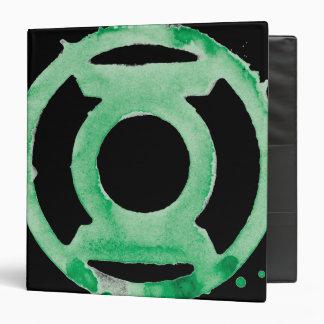 Símbolo de linterna del café - verde