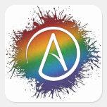 Símbolo de los ateos de LGBT
