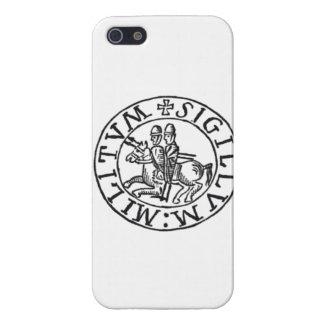 Símbolo de los caballeros Templar iPhone 5 Carcasa